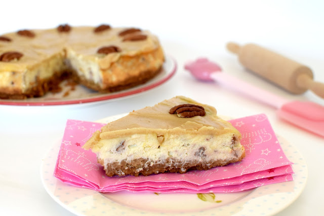 Butterscotch Pecan Cheesecake Recipe