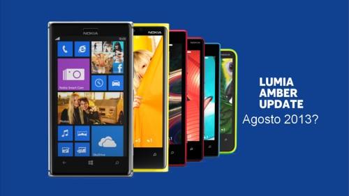 Secondo quando affermato da Nokia Spagna l'aggiornamento al sistema operativo Windows Phone 8 Lumia Amber dovrebbe arrivare per il mese di Agosto