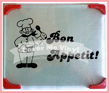 Bon Appetit Cutting Board