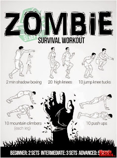rutina entrenamiento zombie