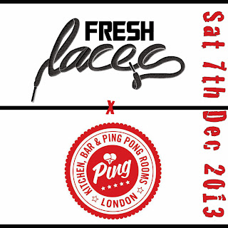 fresh laces, ping, weloveping, sneaker event, december events, trainer event, street fashion, london events