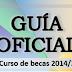 Guía oficial de las becas mec | Curso 2014/2015