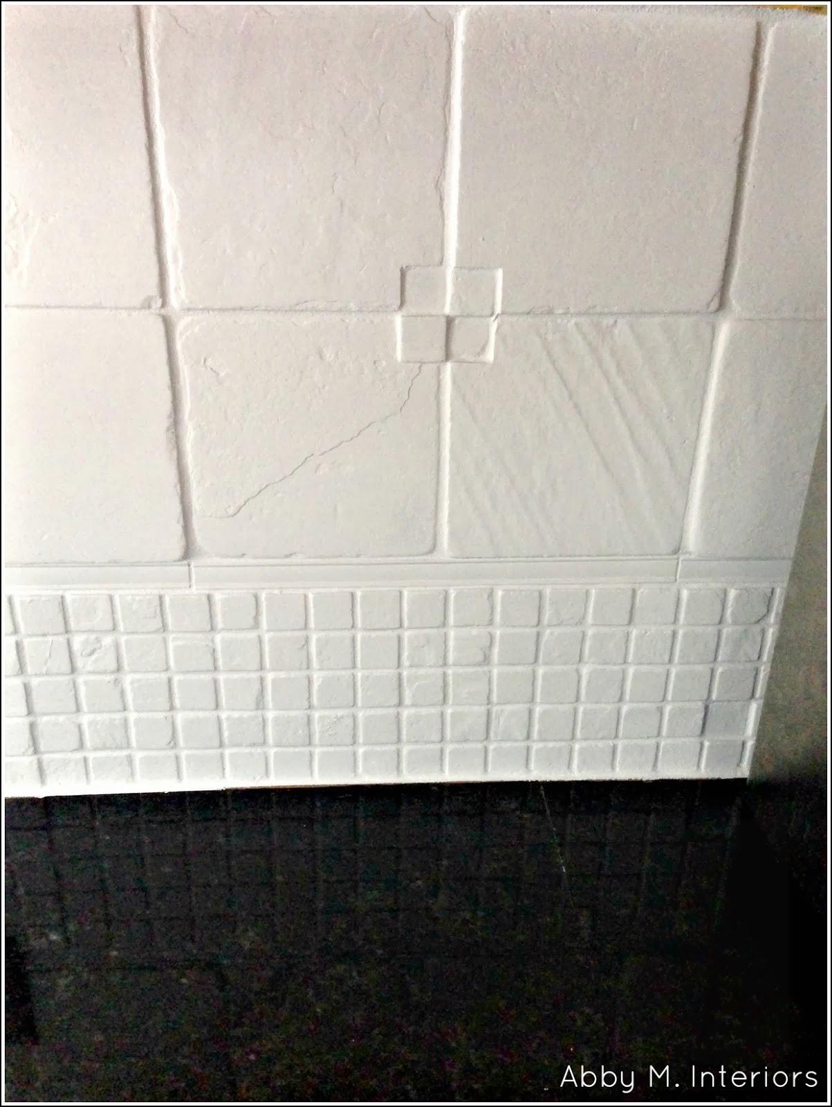 Abby Manchesky Interiors How I Painted my Tile Backsplash