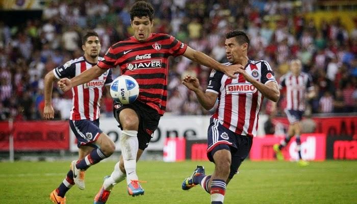 Atlas vs Chivas de Guadalajara en vivo