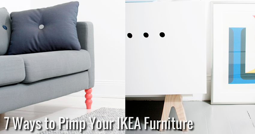 6 Ways To Turn Your House Into A Productive Home Environment: 7 Ways To Pimp Your IKEA Furniture