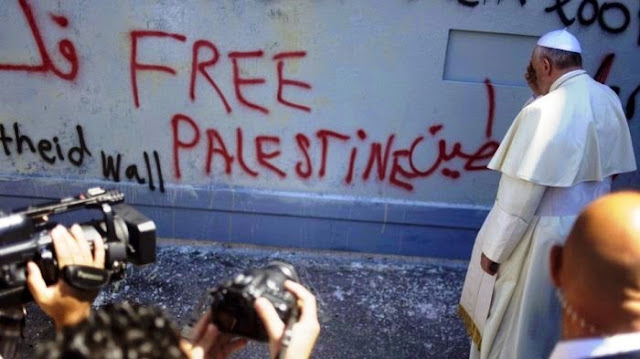 Papa Francisco apóia a causa palestina