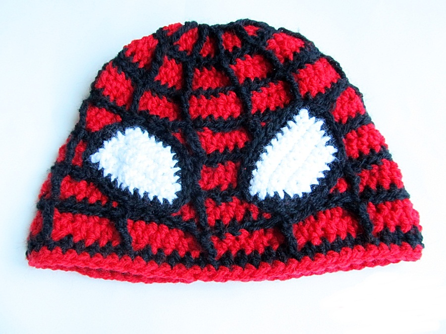 attach to hat hope you like my spiderman hat happy holidays to all