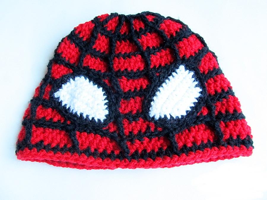 Crochet Spiderman Hat Little Things Blogged