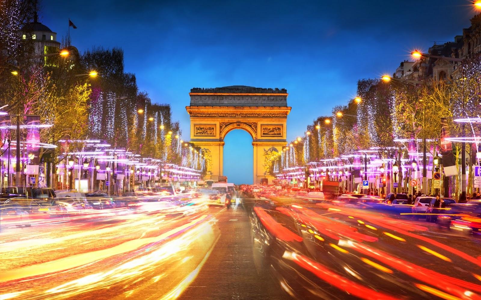 Fotos de El Arco de Triunfo de Paris francia