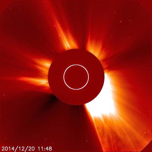 LLAMARADA SOLAR CLASE X1.8, 20 DE DICIEMBRE 2014