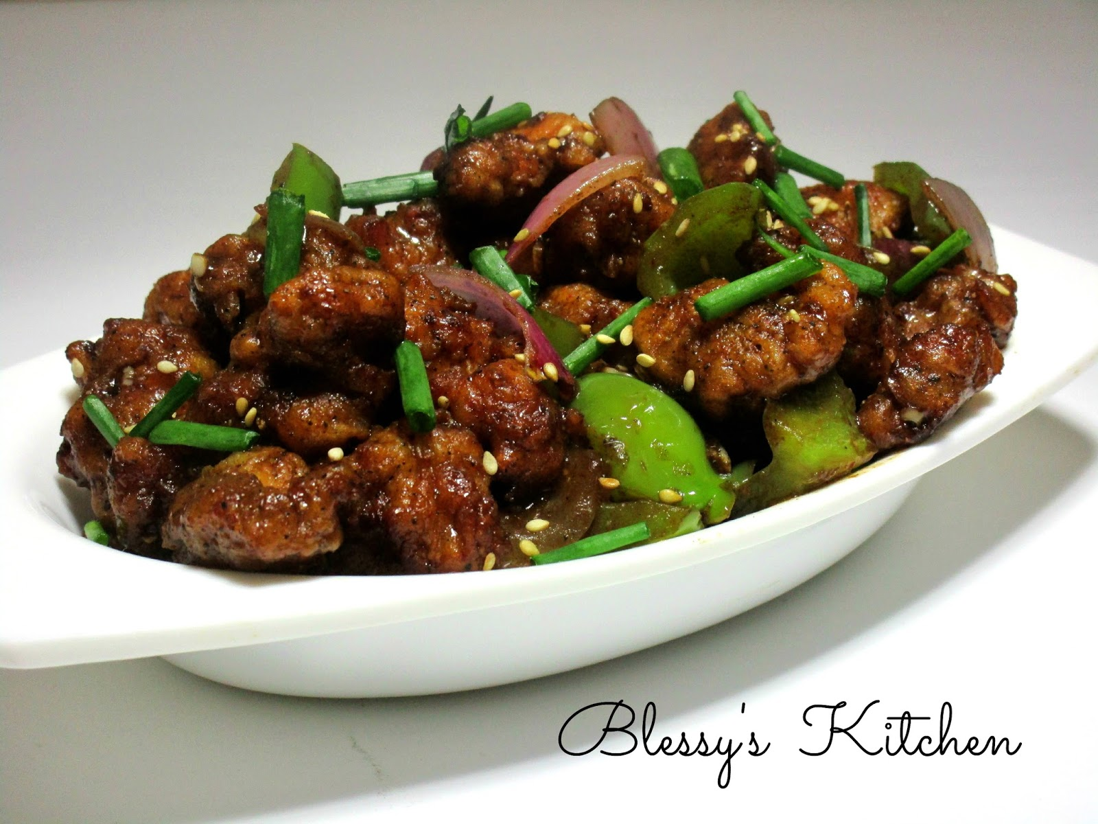 Blessy's Kitchen: Chilli Chicken