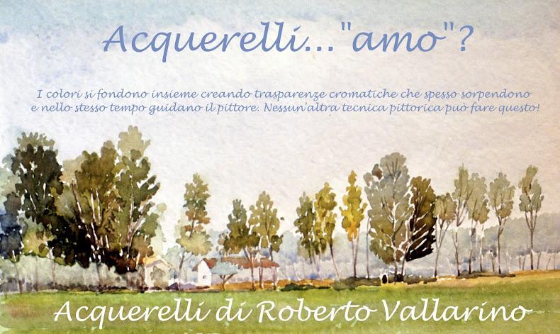 acquerelli di Roberto Vallarino