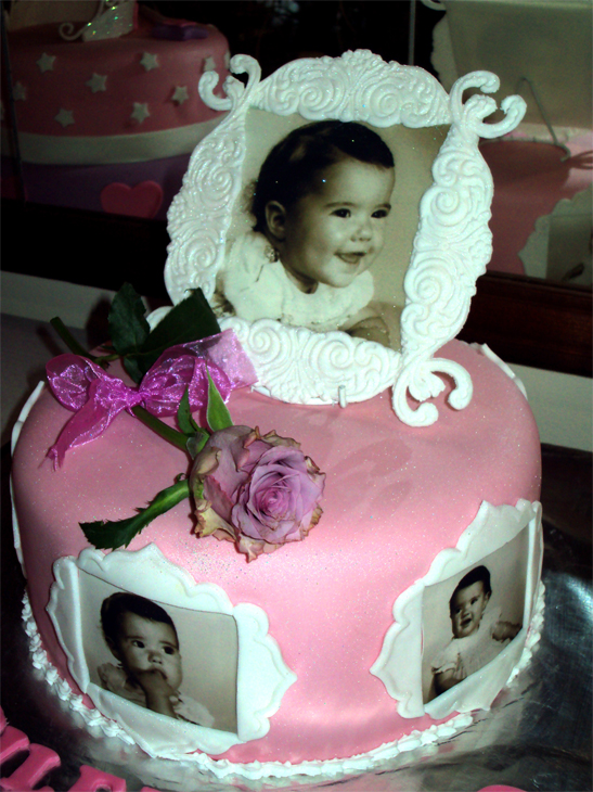 Delana s Cakes: Edible Photo & Frame Cake