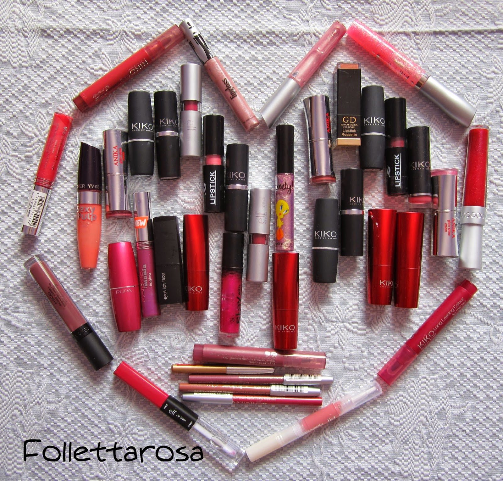 lipstick collection