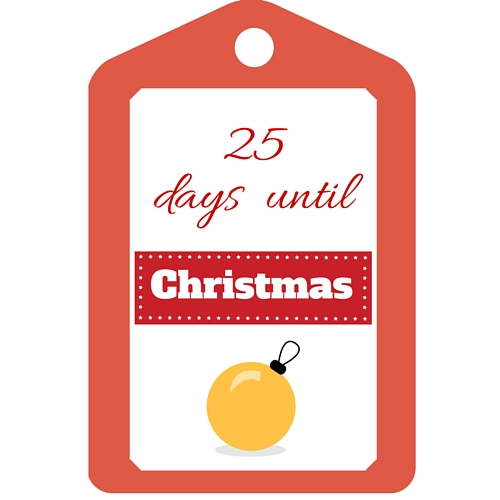 graphic about Free Printable Countdown Calendar identify Xmas Countdown Calendar - cost-free printable Preserving it Accurate