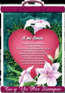 Poemas de Amor con Flores, parte 3