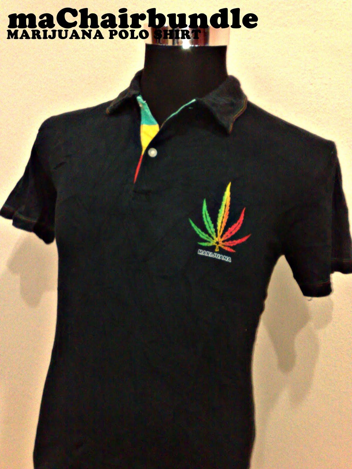 Machairbundle Marijuana Polo Shirt Rm30 Pc017 Sold