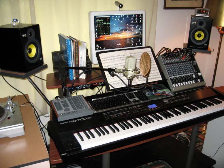 studio musik rumahan