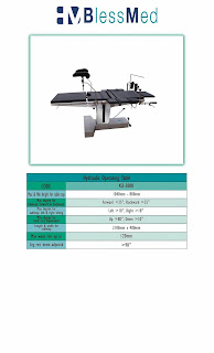 Hydraulic Operating Table Blessmed KSS-3008 | Sugeng Medical