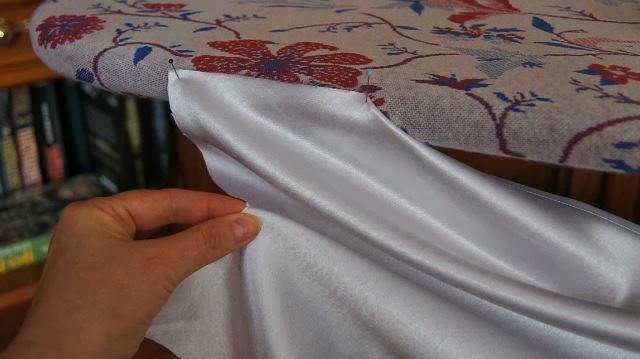 طريقة خياطة اكسسوارات الستائر- الجزء الأول