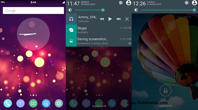 [Lollipop - Themed] Cosmic v2 for Samsung Galaxy Core duos