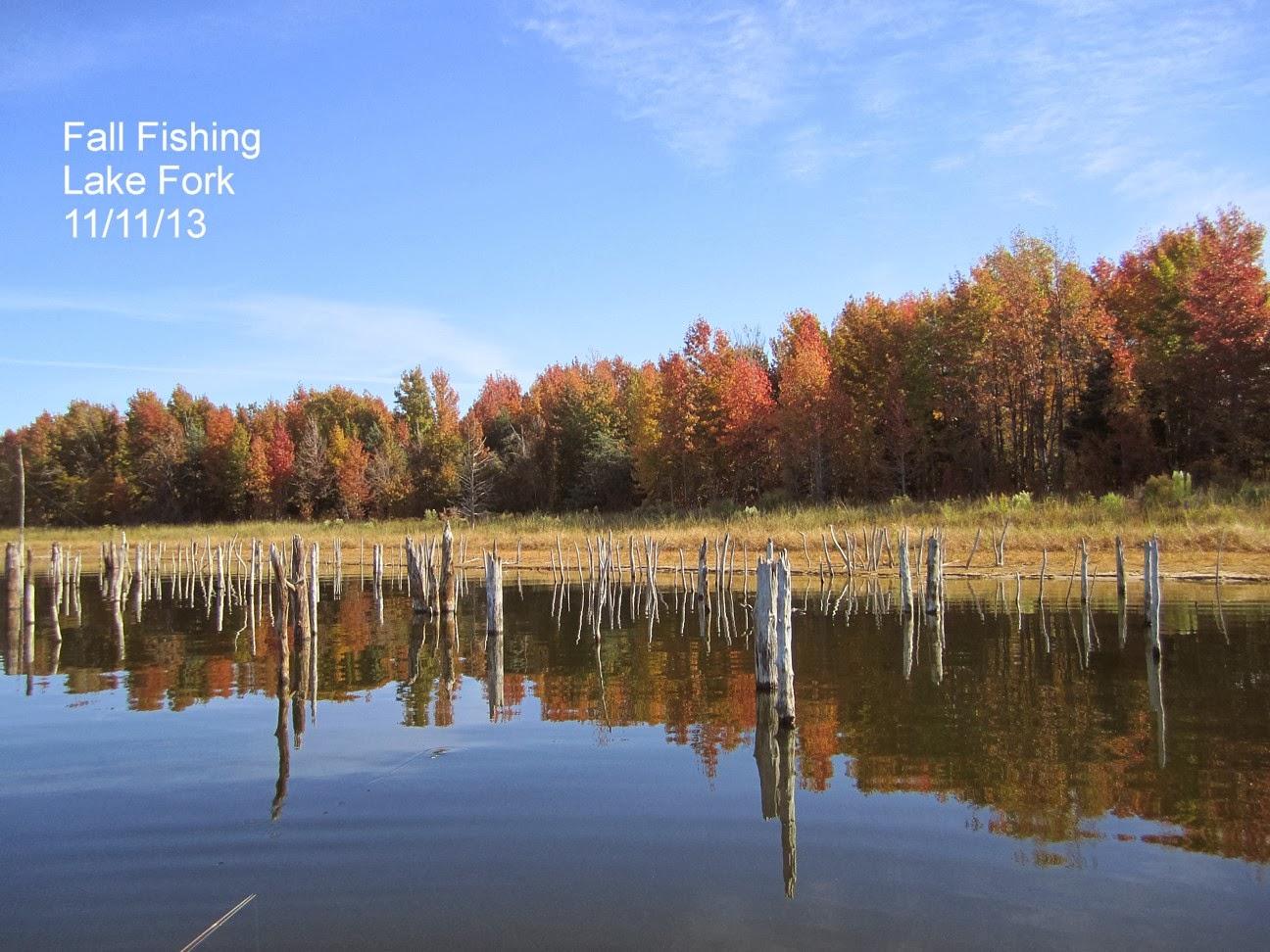 Don o 39 s lake fork fishing adventures november 2013 for Lake fork fishing hot spots