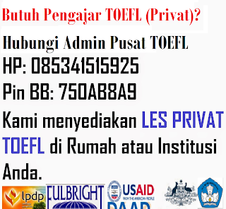 Privat TOEFL Area Makassar