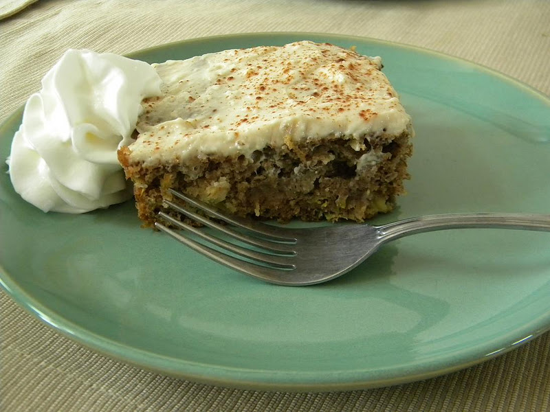 Hot Mess Cooking: Pineapple Zucchini Cake with Cream Cheese Frosting