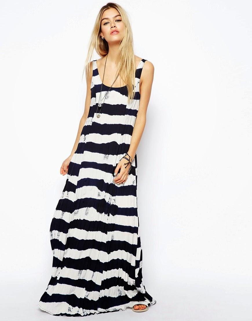 tie dye navy dress