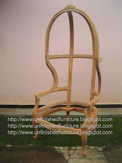 supplier mebel klasik kursi klasik ukir jepara kursi klasik mentah unfinished frame chair