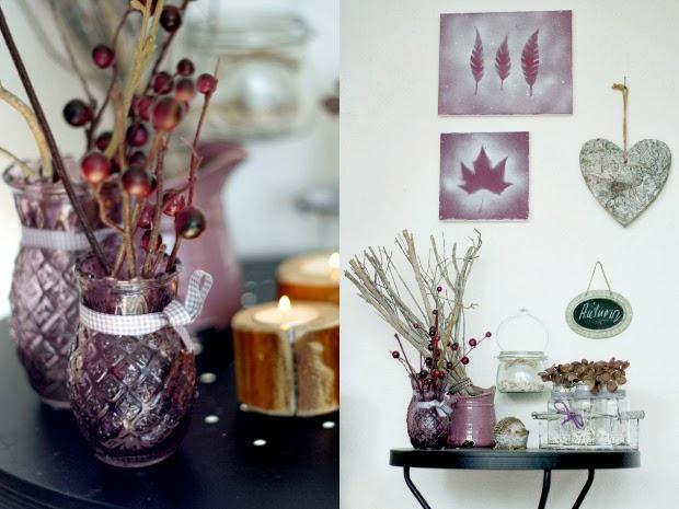 HerbstDekoSchrein  mein feenstaub – DIY, Deko, Design
