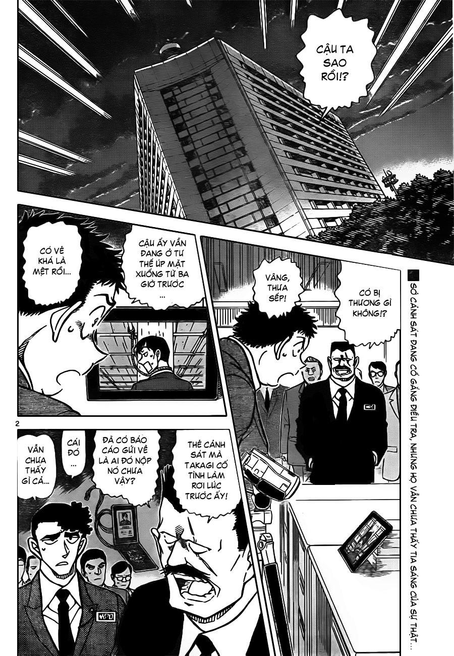 Thám Tử Lừng Danh Conan - Chapter 806 - Pic 3