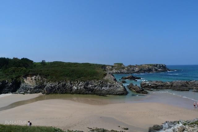 Playa de La Paloma - Senda Costera Tapia de Casariego Asturias