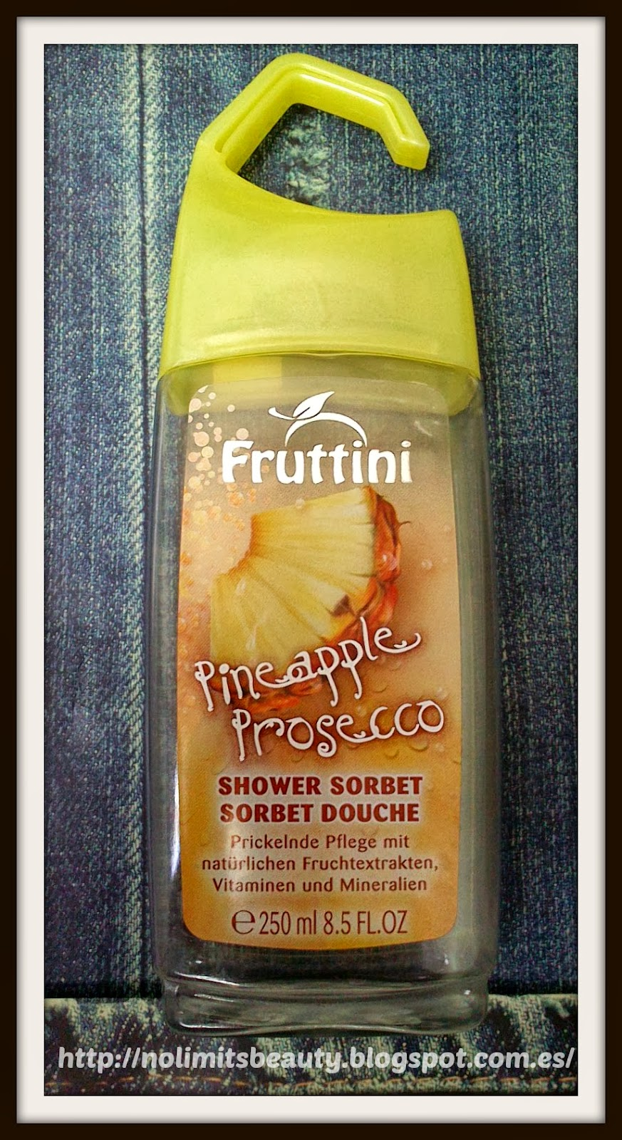 Pineapple & Prosecco Shower Sorbet - Fruttini