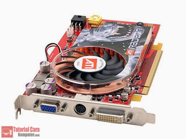 Pengertian, Jenis - Jenis, Fungsi dan Komponen VGA Card - TutorialCaraKomputer.com