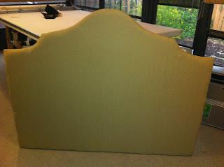 making a headboard