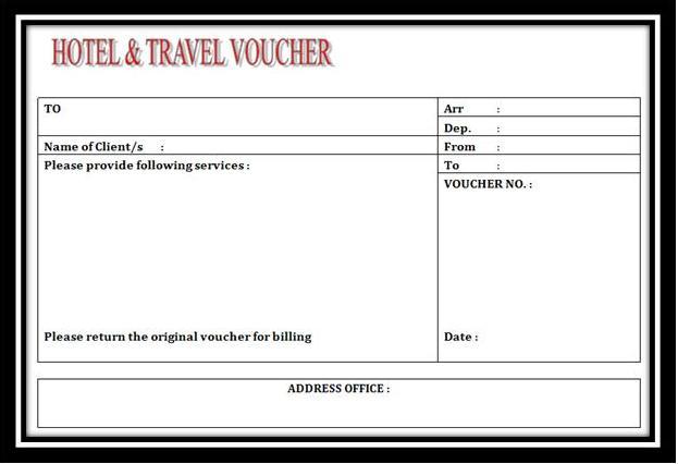 Voucher dan Invoice ~ Travalink Tours Bandung