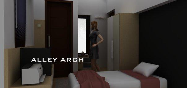 inspirasi desain kamar kos by alley arch