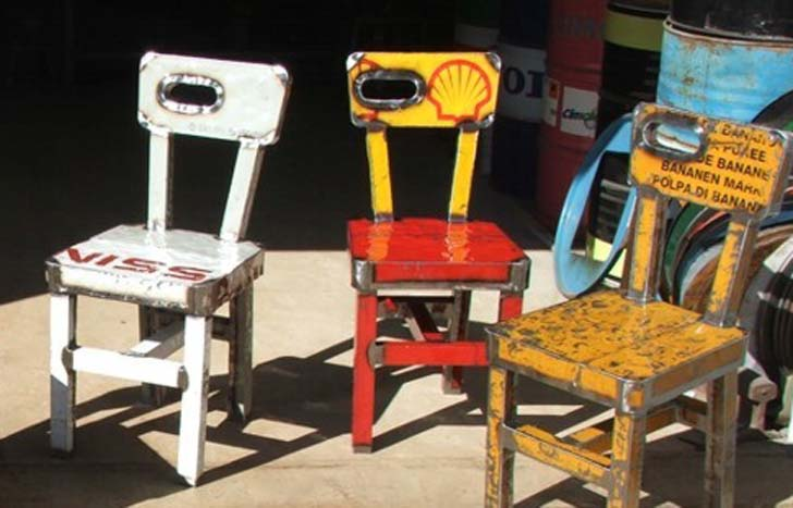 K w upcycling as a creative idea for rubbish for Recycling furniture decorating ideas