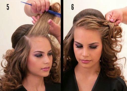 peinado femenino con ondas diy ~ manoslindas