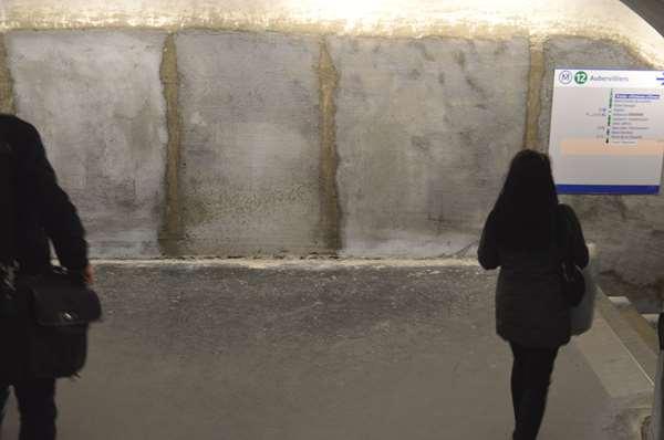 Abstraction des murs - Le métro