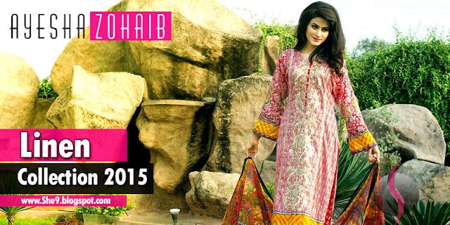 Ayesha Zohaib Midsummer Linen Dresses