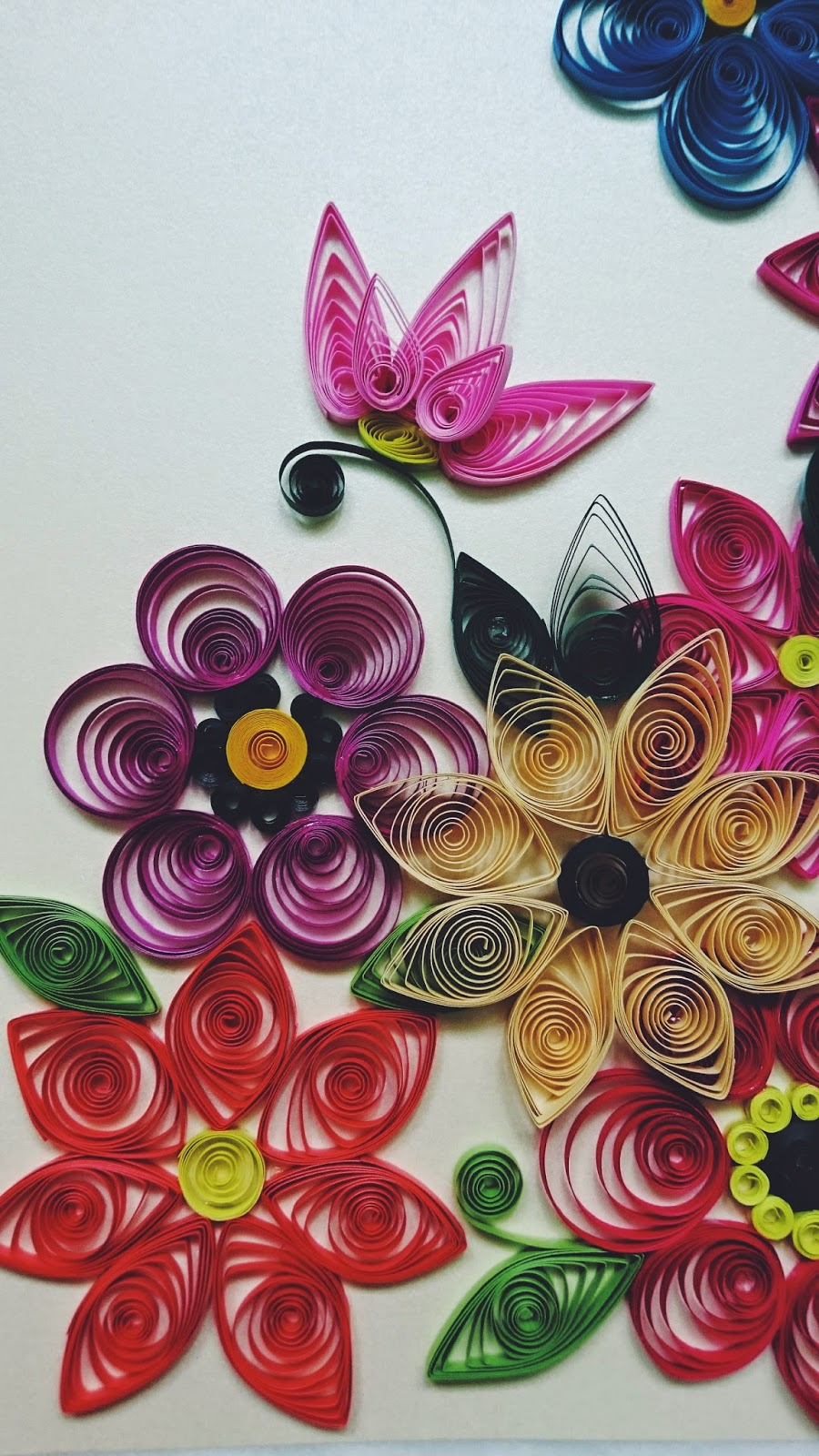 Wiosenny quilling