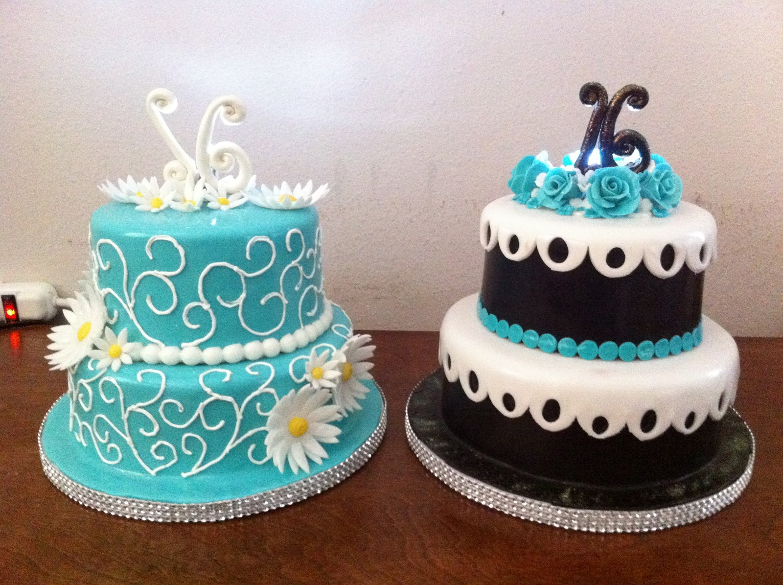 Donna Belle Desserts Sweet 16 For Twins