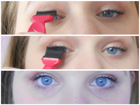 how to apply mascara avon mega effects before and after