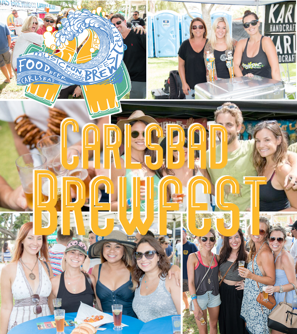 Save on passes & Enter to win tickets to the Carlsbad Brewfest - September 10
