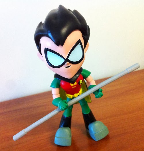 Teen Titan Toy : Super punch new teen titans toys