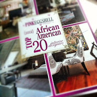 Listed on PinkEggshell's 2012 Top 20 African-American Interior Designers List