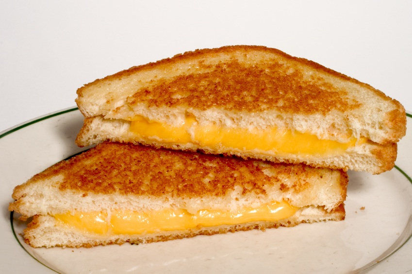 ... toasted golden brown pefectly melted gooey grill cheese sandwich yum