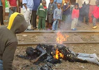 Picture | Gay Burnt To Death In Uganda.